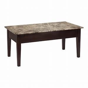 two tones wood granite top coffee table sets with hardwood With granite top coffee table sets