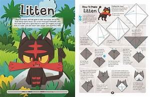 Pok U00e9mon Origami  Fold Your Own Alola Region Pok U00e9mon