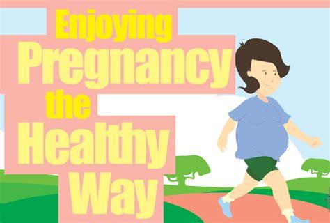 Rahim Wanita Ketika Hamil Menikmati Tempoh Hamil Dengan Sihat Dan Gembira Positive