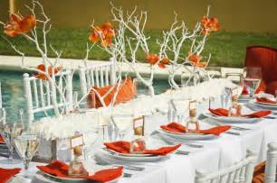 cheap wedding decorations for tables from kente to palettes orange and white wedding inspiration i do