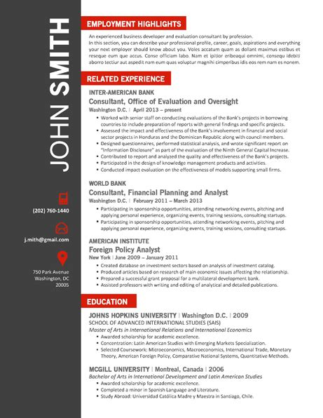 Office Publisher Resume Templates by Office Resume Template Trendy Resumes