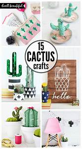 Easy, Diy, Cactus, Crafts, To, Make, Sell, And, Share