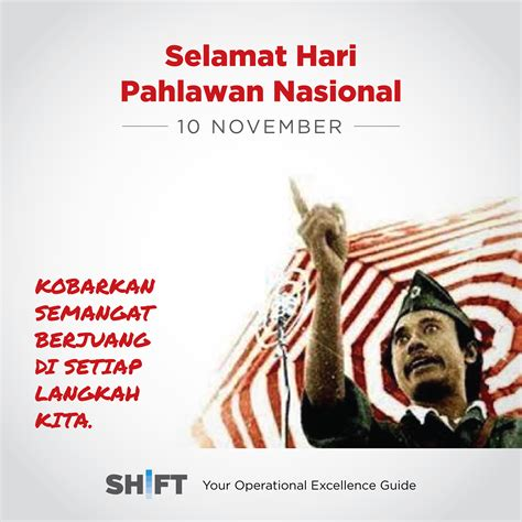 hari pahlawan  era milenial shift indonesia