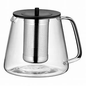 Wmf Teekanne Edelstahl : wmf teatime tee set 2 tlg teekanne 1 2 l glas m sieb st vchen edelstahl tea time ~ Sanjose-hotels-ca.com Haus und Dekorationen