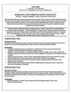 marketing advertising resume exles marketing specialist resume template premium resume sles exle