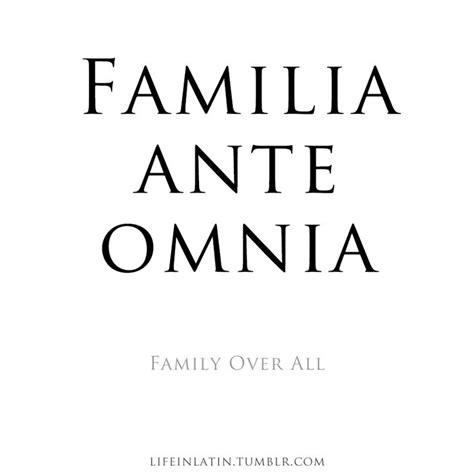 Latin Family Quotes Tattoos