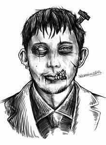 Dibujo zombie Comunidad Dibujante Taringa!