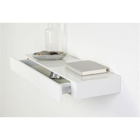 bloc tiroir cuisine etagère tiroir blanc l 48 x p 25 cm ep 100 mm leroy merlin