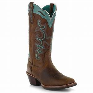 Western Cowboy Boots For Women   Tsaa Heel