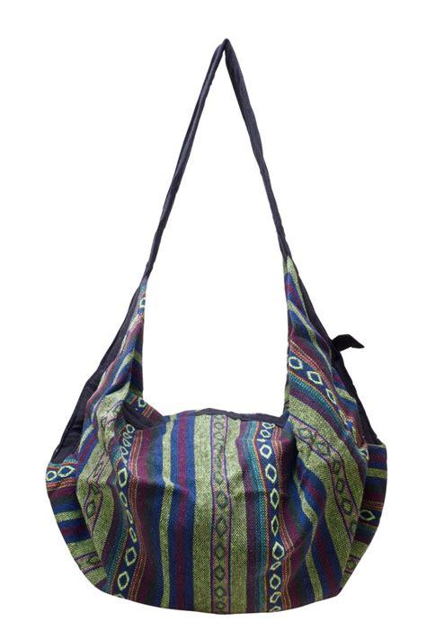 woven cotton shoulder bag backpack crossbody