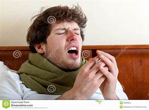 Man With Sinus Infection Stock Images Image 36993854