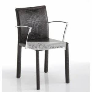 Chaise De Bar Avec Accoudoir : chaise cuir avec accoudoir sissi ~ Teatrodelosmanantiales.com Idées de Décoration