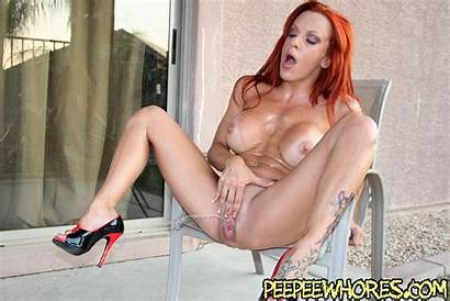 Redhead Milf Pornstar Pissing Shannon Kelly Fetish