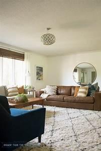 Freshly, Painted, White, Living, Room
