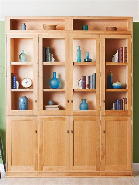 Bookcases Plans by Door Bookcase Woodworking Plan From Wood Magazine