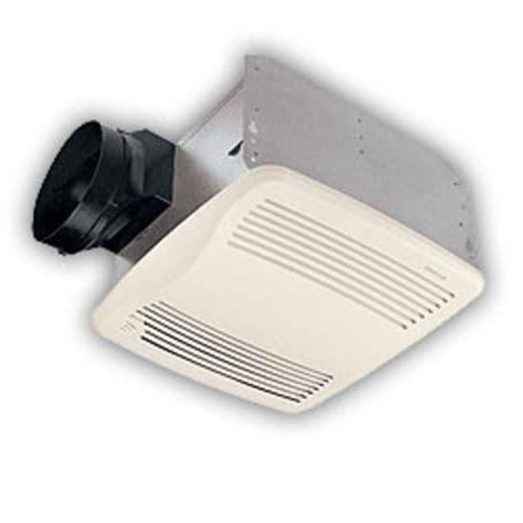nutone bathroom exhaust fan bathroom fans nutone 110 cfm qtxen110s series humidity
