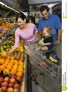 Family Grocery Shopping. Royalty-Free Stock Photo ...