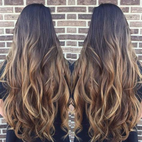 brown to light brown hair baylage ombr 233 brown to light brown hair