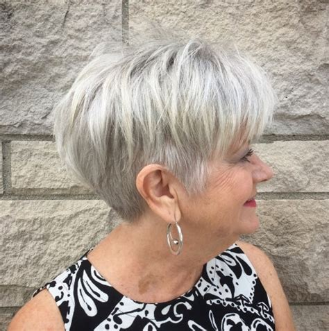 50 best short hairstyles and haircuts for over 60