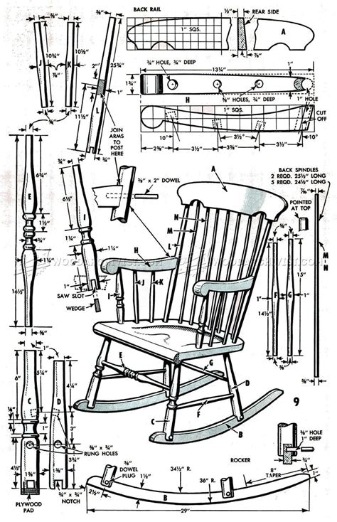 tedswoodworking plans review rocking chair plans diy