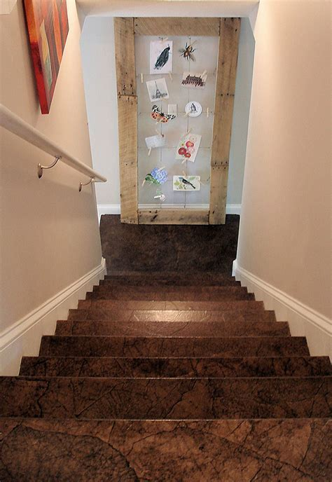 Amazing Brown Paper Flooring   Lara Berch Designs