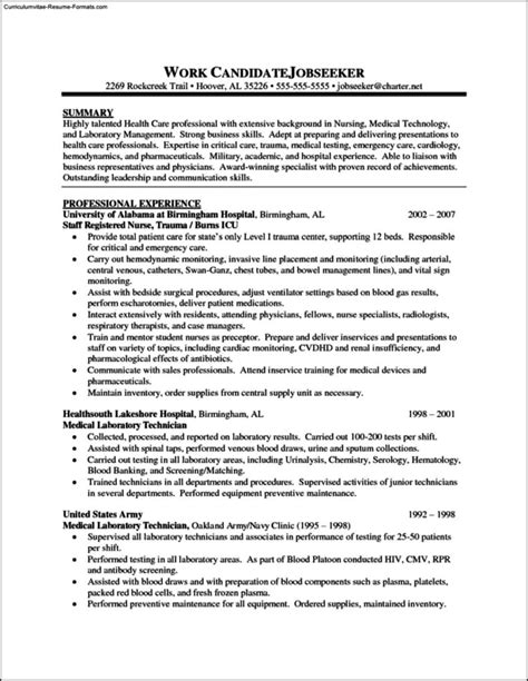 registered resume template free free sles