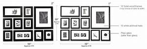 what you get with perfect picturewall picturewallcom With picture hanging template kit