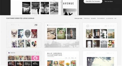 squarespace avenue template sell your work with squarespace commerce design milk
