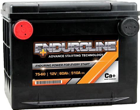 75-60 Enduroline Side Terminal Car Battery 12v