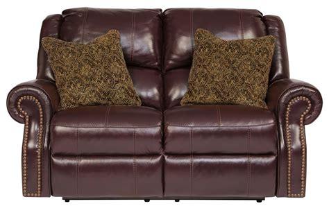 walworth reclining sofa reviews walworth blackcherry power reclining loveseat from ashley