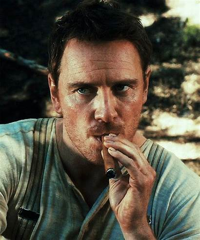 Fassbender Michael Slow West Cigar Smoking Movies