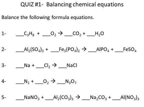 Chemistry Chapter 8 Chemical Equations  Ppt Video Online Download