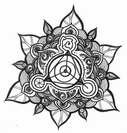 Mandala Tattoo Designs Tattoos Flower Triangle Mandalas
