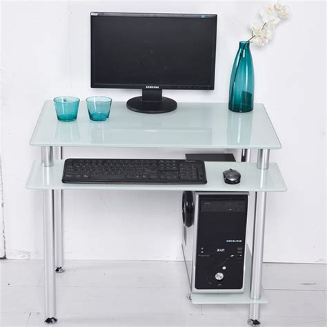 mouse for glass desk desktop computer desk home desktop table glass minimalist