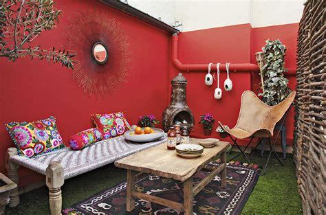 Ambiance sud-américaine sur une terrasse - Maison Créative