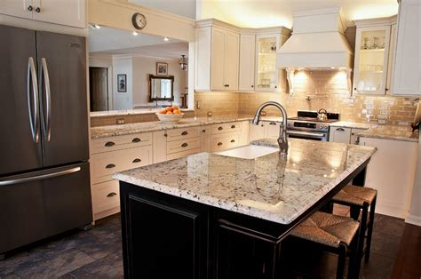 espresso kitchen island white galaxy granite for stylish and affordable kitchen