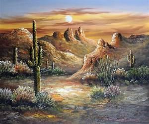 Arizona Desert Cactus Flowers Ocotillo Saguaro Stretched ...