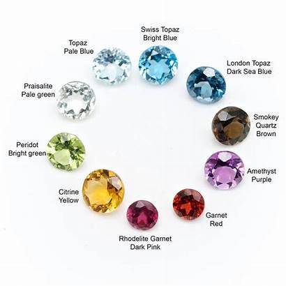 Precious Semi Stone Ring Silver Stones Gemstones