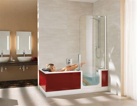 Raumsparwanne Mit Dusche by Dusche Und Badewanne In Einem Hausidee Dehausidee De