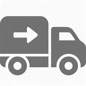 Arrow, delivery, logistics, shipping, shopping, truck icon ...