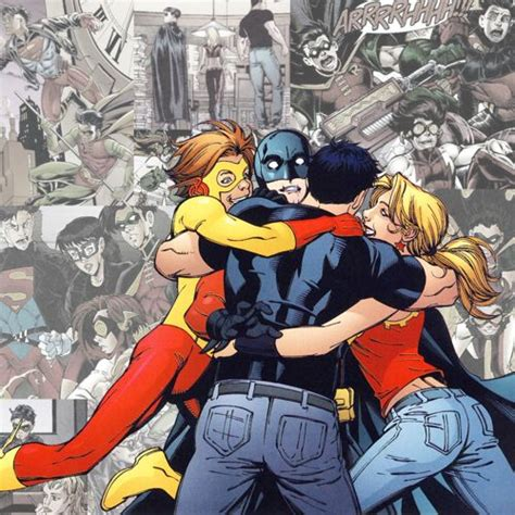 Dc Comics Memes - dc comic meme 1 1 one quote once a teen titan always a teen titan young justice