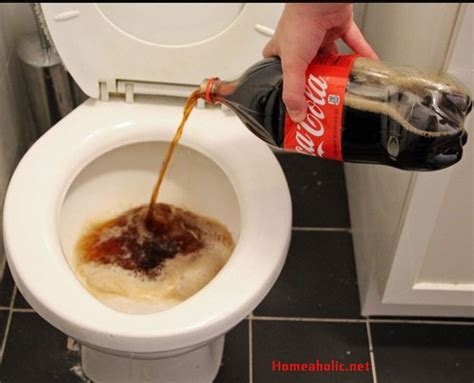 How To Clean Toilet Bowl Stains With Coke Homeaholicnet