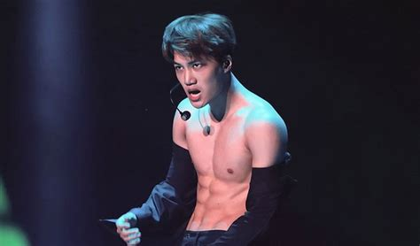 Kai Of Exo Caught With Crazy Hot Abs On Exo Concert • Kpopmap