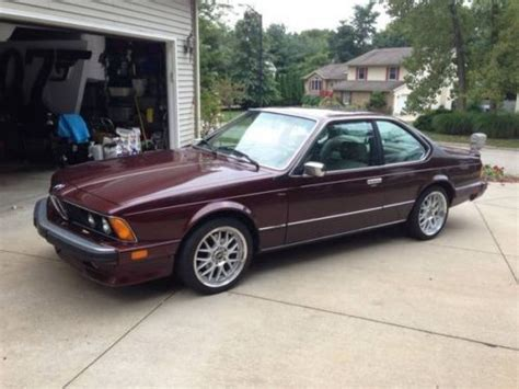 Classic Bmw Ohio by Find Used Classic 1984 Bmw 633csi In Mansfield Ohio