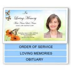 funeral memorial programs funeral programs funeral program template bottom fold