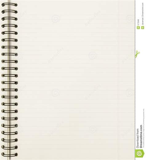 blank notebook sheet royalty  stock  image