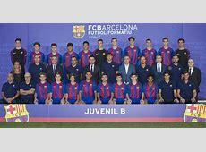 Todos los equipos de la cantera del FC Barcelona 201617