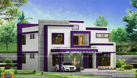 home plans and designs contemporary home design by nobexe interiors kerala home
