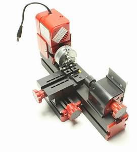 Diy Power Tools Metal Mini Motorized Lathe Machine Woodworking Hobby Modelmaking 642940620865