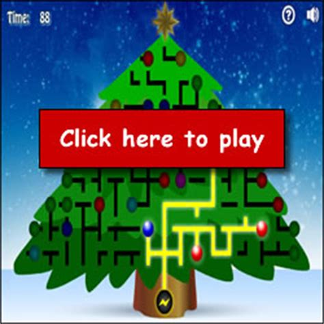 light the christmas tree game free childrens flash html5 for